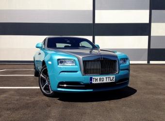 Rolls-Royce Wraith (2016)