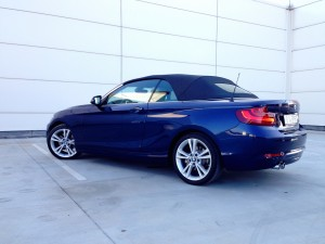 BMW 220d Convertible (source - ThrottleChannel.com) 09